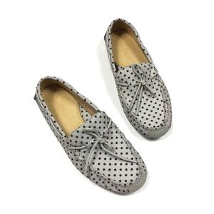 Cole Haan Loafers 11.5 Gray Polka Dot Men's